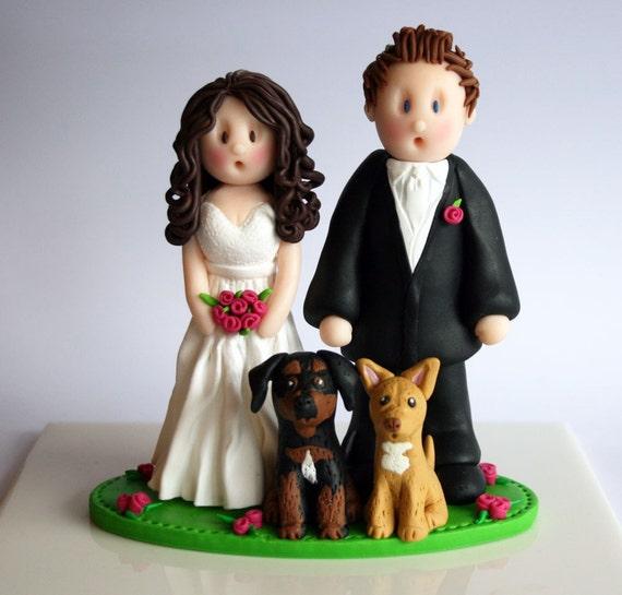 DEPOSIT - Custom Wedding Cake Topper