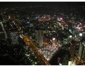 Yokohama at Night - Photography - 5x7 Print