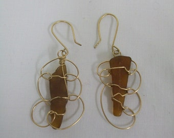 Sea Glass, free flow amber