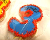 Birthday Number or Letter Sugar Cookie party favors (3 dozen )