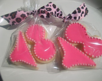 Lingerie or binkini cookie favors (12 favors)