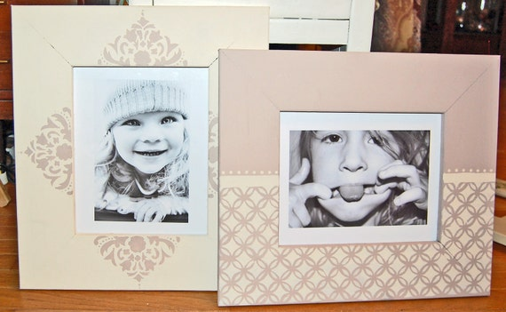 Set of two 8X10 picture frames Can be matched to your decor