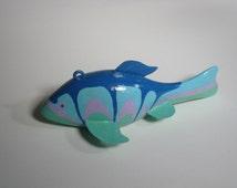 Decorative Blue Fish Spear Fishing Decoy