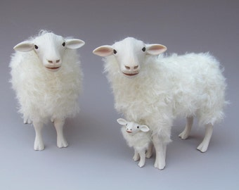 Dutch Family Kempen Heath Sheep Straddling