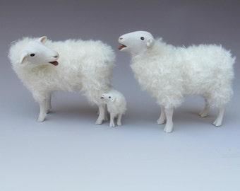 Dutch Sheep FIgures,  Kempen Heath  Baaing Family
