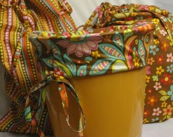 Custom Laundry Bag Basket Liner ...You Choose the Fabric I do the Labor