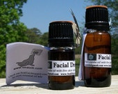 special listing for Jessica:  5ml Facial Drops, 10ml lemon essential oil, 5g patchouli solid perfume