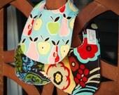 3 Piece Bib Set - You Choose Fabrics - SALE