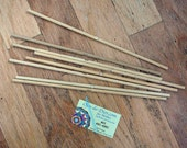 NO YARN; Includes Sticks, Yarn Needle, and Downloadable Instructions. Kit for making TWO 8-sided, 12-inch Mandalas