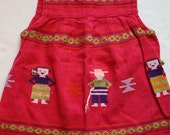 Handmade Guatamala little girls dress