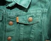 18 Month- Green Levi Jean Jacket