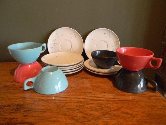 Clearance Sale Vintage Melmac Melamine Tableware