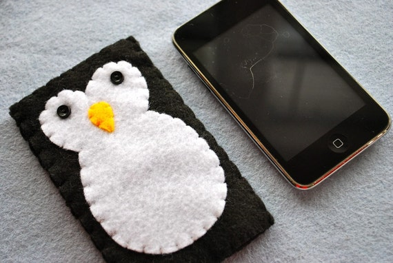 Penguin ipod touch / classic / iphone cover