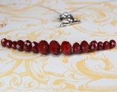 Ruby Fire Necklace