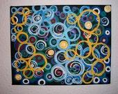 Burst   On SALE    a beautiful bounty of bursting colors 8 x 10