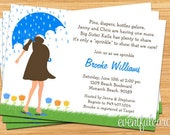 Baby Sprinkle Shower Invitation for Boy (Also Available in Girl)
