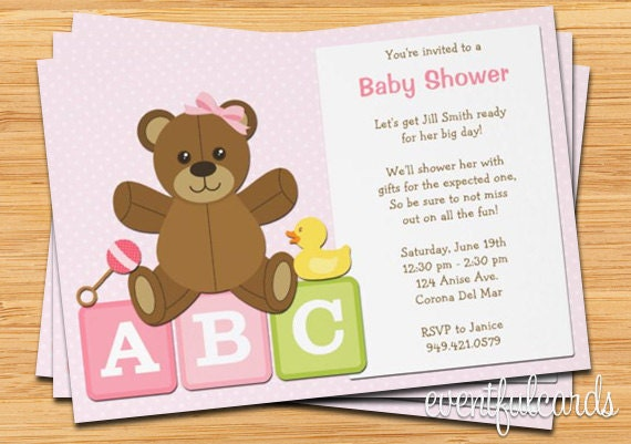 Walgreens Baby Shower Invitations for perfect invitation sample