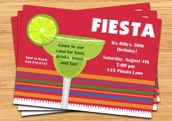 Fiesta Party Invitation – Cool Party Invites