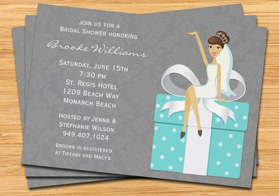wedding shower invitations etsy