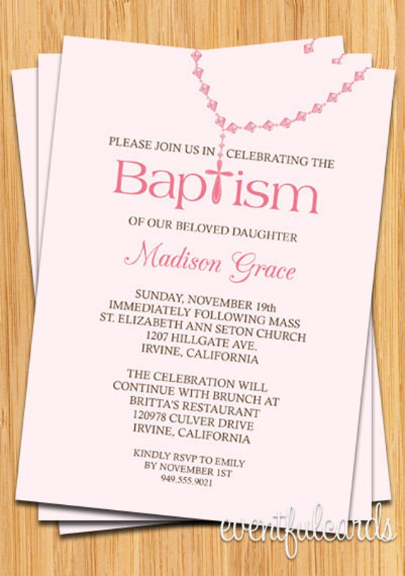 Baptism Invitations For Girl is one of our best ideas you might choose for invitation design