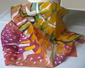 hand-painted silk scarf, just one original