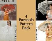 Four Parasols Pattern Pack