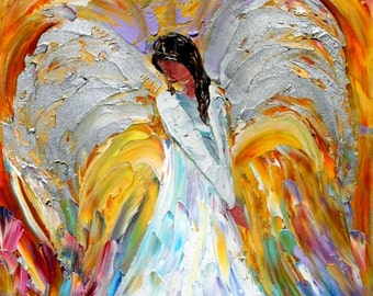 Fine Art Print from oil painting by Karen Tarlton - Angel