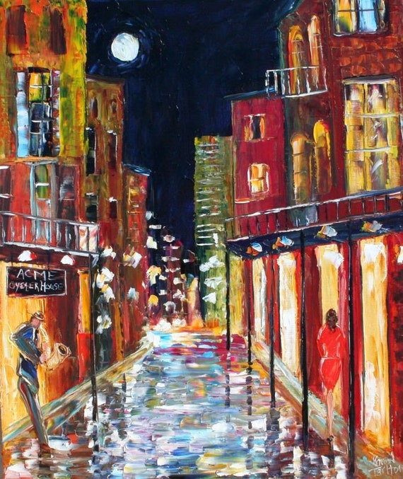 Commission a Karen Tarlton New Orleans Original Oil Painting