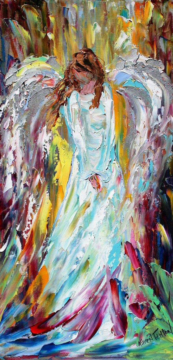Canvas Painting Ideas Of Angels