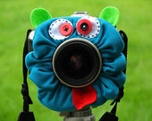 custom large CRAZY FACE Lens Pet for your camera