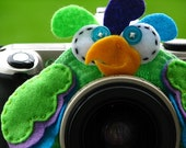 custom PARAKEET Lens Pet for your camera