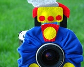 custom large TRAIN Lens Pet for your camera