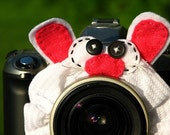 Ready to Ship -- standard BUNNY RABBIT Lens Pet for your camera
