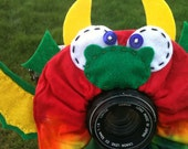 custom Limited Edition Tie Dye DRAGON Lens Pet for your camera