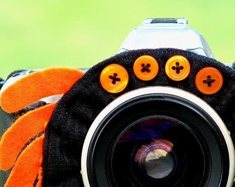 custom Halloween SPIDER Lens Pet for your camera