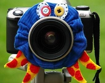 custom OCTOPUS Lens Pet for your camera