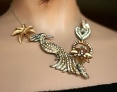 Statement Necklace: Pretty as a Peacock