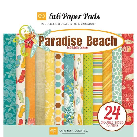 Echo Park 6x6 Paper Pad Paradise Beach-Save 15%