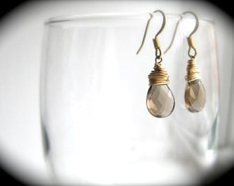 Briollette Earrings - Any Color
