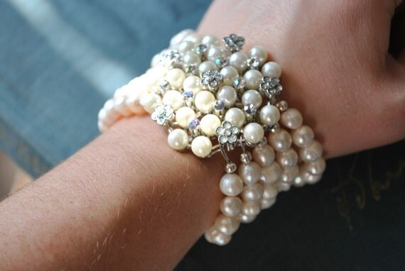 Freshwater Pearl Statement Bracelet