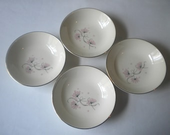 Vintage Set of 4 Fruit Dessert (sauce) Bowls