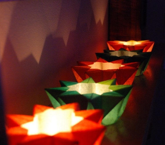 Pick Your Color Paper Waldorf Star Lantern