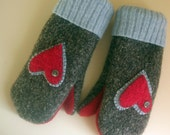 Warm Hands, Warm Heart Mittens Free Shipping USA, CAN
