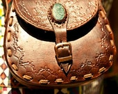 Small Brown Leather Cross Body Bag