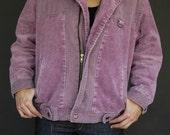 SALE - Vintage 1980's Cool Corduroy Jacket