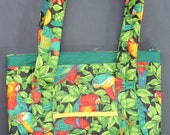 PARROTS purse / tote bag