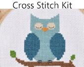 Cross Stitch Kit - Little Sleeping Owl