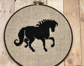 Black Horse Cross Stitch Kit
