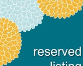 Reserved listing for amalin314