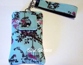 Choose Any Japanese Fabric Phone Case with Wristlet in My Shop
